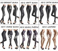 Vente en gros de pantalons hot sale faux cuir taille haute leggings stretch matériau pU mesdames mode jambières de cuir, $4.3 sur Fr.dhgate.com | DHgate
