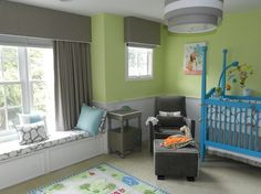 Nursery projects - contemporary - kids - dc metro - Picture Perfect Windows