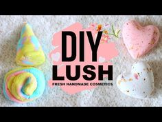 DIY PAINS MOUSSANTS LUSH w/ TheBeautyFolly - YouTube