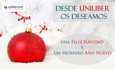 Desde Uniliber os deseamos Feliz Navidad