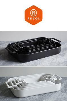 revol | porcelain bakeware | roasting dish Belle cuisine