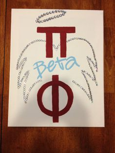Pi Beta Phi canvas