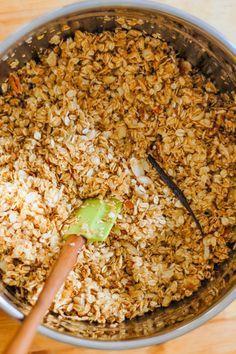 My Favorite Granola.     My Favorite Granola. Maple Nut Vanilla Bean Granola |  www.blossomtostem...  |  #maple   #vanillabean   #nuts   #oats   #granola   #breakfast   #cereal   #recipe   #sweet   #glutenfree   #vegetarian   #vegan   https://www.pinterest.com/pin/87749892716074418/  Also check out: http://kombuchaguru.com