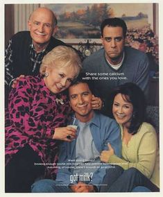 """Everybody Loves Raymond: 21 Vintage """"Got Milk"""" Ads to Take You Back Old Tv Shows, Best Tv Shows, Favorite Tv Shows, Movies And Tv Shows, Favorite Things, Everyone Loves Raymond, Got Milk Ads, Comedy Show, Funny Comedy"""