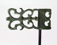 A fine Celtic Bronze Belt Buckle, La Tene, ca 4th century BC