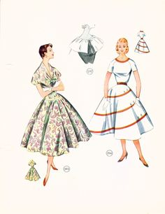 1954 Lutterloh Book Golden Schnitte Sewing Patterns