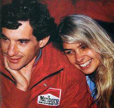 Ayrton Senna: Ayrton Senna Comemora Vitória no Brasil Com Pelé e Adriane…