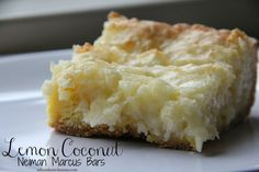 Bar 81: Lemon Coconut Neiman Marcus
