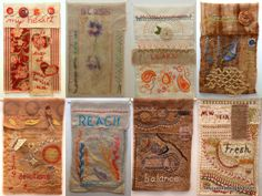 More gorgeous hand-stitched Prayer flags.