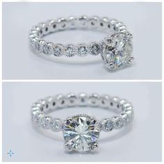 Stunning diamond engagement ring by Brilliance.com