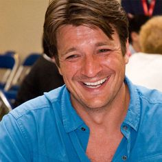 """Canadian-born actor Nathan Fillion gained critical acclaim and a large cult of fans when he starred as Captain Malcolm Reynolds on the Joss Whedon TV series """"Firefly"""" (2002), having previously been a regular on """"One Life to Live"""" and """"Two Guys, a Girl and a Pizza Place""""... http://filmfun.tumblr.com"""