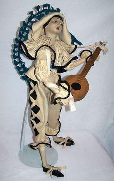 Lenci Arlecchino boudoir doll by lenci*boudoir*doll*lady, via Flickr