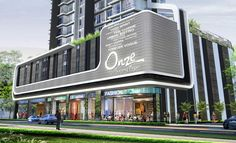 Reasons To Buy Onze Tanjong Pagar Building Elevation, Building Exterior, Building Facade, Mall Facade, Retail Facade, Mix Use Building, Building Design, Futuristic Architecture, Facade Architecture