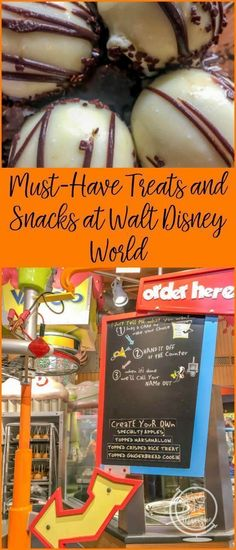 Must-Have Treats and Snacks at Walt Disney World, Including Dole Whips, Zebra Domes, Mickey Bars, and Beignets. #ad #familytravel #disney