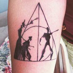 Minimalist harry potter tattoos that are pure magic 41