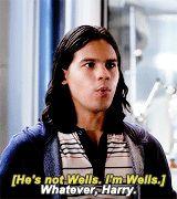 """A whole new world"" • dailyflarrowgifs: Cisco Ramon in The Flash 2x06..."