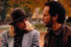 Meg Ryan and Billy Crystal. When Harry Met Sally (1989)