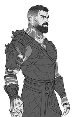 M human fighter monk cleric barbarian