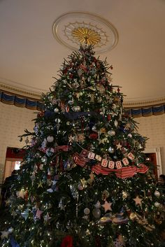the official white house christmas tree #whsocial