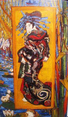 Vincent van Gogh, 1887, The Courtesan
