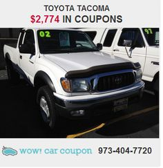 This beautiful #ToyotaTacoma is not going to disappoint you. If you want an amazing #deal   with some #amazing #coupons, you are going to get it with this baby!!! Your lucky day! For more info check it out www.wowcarcoupon.com!!! #wowcarcoupon
