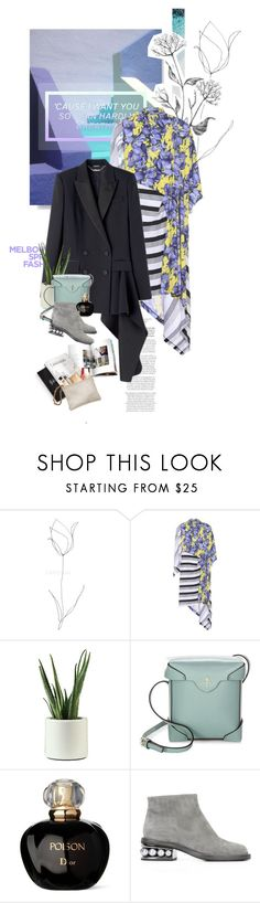 """ᶯᶱ 862"" by it-is-just-me ❤ liked on Polyvore featuring Balenciaga, MANU Atelier, Christian Dior and Nicholas Kirkwood"