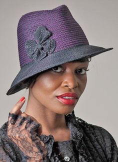 fedoras are great hats for women with short hair -  http://boomerinas.com/2013/05/best-hat-styles-for-women-with-short-hair/