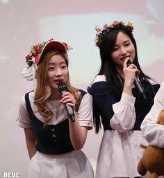 Dahyun and Mina Korean Group, Korean Girl Groups, Warner Music, Twice Once, Gif Photo, Yes I Have, Twice Dahyun, Minatozaki Sana, Im Nayeon