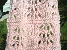 Free Knitting Pattern - Scarves: Garden Trellis Scarf