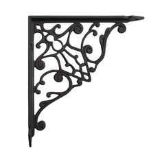Antiques Architectural & Garden Pair Cast Iron Pennsylvania Dutch Shelf Brackets