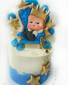 Baby Boy Birthday Cake, Baby Boy Cakes, Bird Cakes, Cupcake Cakes, Tortas Deli, Patisserie Design, Nautical Cake, Make Up Cake, Beautiful Birthday Cakes