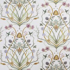 Potagerie by The Chateau by Angel Strawbridge - Multi-coloured - Wallpaper : Wallpaper Direct Cream Wallpaper, Old Wallpaper, French Wallpaper, Angel Adoree, Angel Strawbridge, Wallpaper Please, French Cottage, Pretty Wallpapers, French Country Decorating
