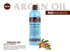 Argan Oil  Luxurious Shampoo - 16 fl oz- Only $5.99.    Argan oil has a unique structure that penetrates the hair cuticle, reducing friction and breakage during shampooing and provides a natural micro-barrier that protects from styling heat & UV rays. The result is amazing shine with a silky-soft feel for healthy, beautiful hair.    http://store.renpure.com/collections/argan-oil/products/argan-shampoo