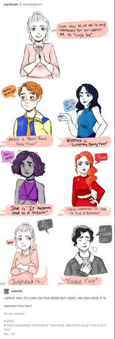 Riverdale fanart, lmaooo!! this is so great.