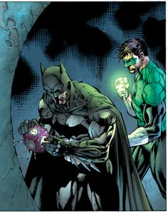 Batman and Green Lantern-Justice League #1