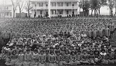 """The term """"Final Solution"""" was coined by Indian Affairs Superintendent, Duncan Campbell Scott, in April 1910 dealing with the """"Indian problem"""". """"It is readily acknowledged that Indian children lose their natural resistance to illness by habitating so closely in these schools & that they die at a much higher rate than in their villages. But this does not justify a change in Dept policy, which is geared towards the final solution of our Indian Problem"""". (DIA Archives, RG 10 series)."""