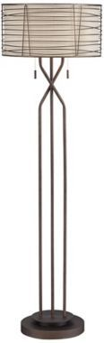 Franklin Iron Works™ Marlowe Woven Floor Lamp
