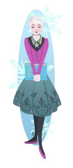 "Dapper Elsa by Reine-Haru.deviantart.com on @deviantART - From ""Frozen"""