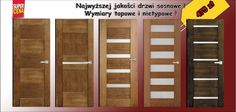 Drzwi drewniane CZAJKA 70 80 90 surowe bezseczne