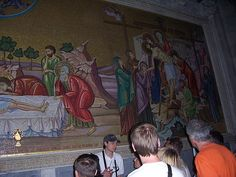 Mosaic in the Church of the Holy Sepulchre #1