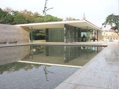 Pabellón Alemán en Barcelona (España). L. Mies Van der Rohe