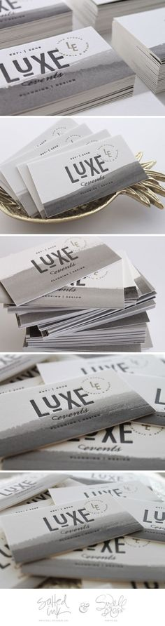 Luxe Events Branding by Salted Ink Design Co. | Fivestar Branding – Design and Branding Agency & Inspiration Gallery