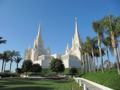 visited the san diego california temple