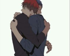 "So meet my OTP / OTL ""Aokaga"""