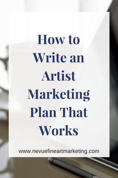 How to Write an Artist Marketing Plan That Works. Learn easy tips to help you write a marketing plan that will work. Start selling more art online. - Learn how I made it to in one months with e-commerce! Etsy Business, Craft Business, Creative Business, Online Business, Business Writing, Marketing Plan, Business Marketing, Marketing Strategies, Content Marketing