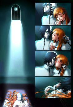 Orihime and Ulquiorra. Hahahaha even though I hate Orihime