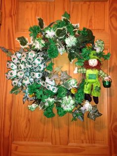 St' Patrick grape vine wreath