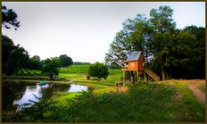 Fun stuff to do around Charlotte.  This is the only vineyard in Monroe, NC.  We stayed overnight in their treehouse and sipped wine on the porch.  You can even have a chef come prepare dinner for you.  Not too expensive and a great little getaway close to home.