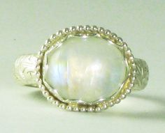 I would really like a moonstone ring.