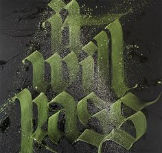 Calligraffiti by Niels Shoe Meulman | Inspiration Grid | Design Inspiration